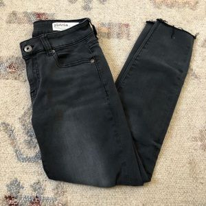 Pistola Black Distressed Skinny Jeans